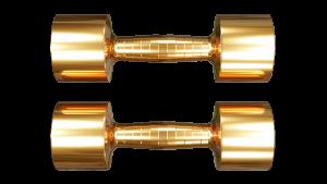 copper dumbbells