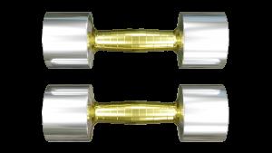 stainless steel brass dumbbells