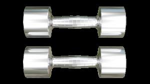 stainless steel dumbbells